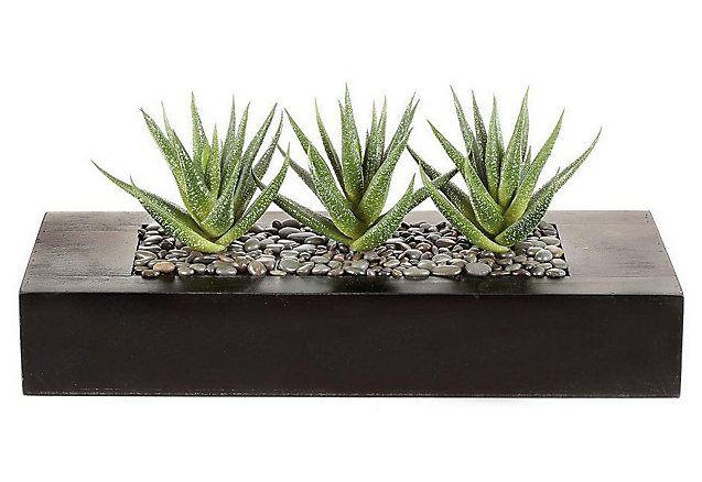 Kunstplant-arrangement in 2 varianten €27