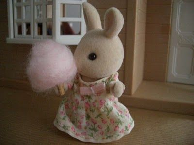 Sylvanian Families: DIY Fairy Floss /Cotton Candy for Sylvanian