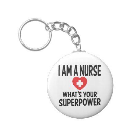 Funny Nurse Quote - LPN RN Nursing Nurses Keychain - nursing nurse nurses medical diy cyo personalize gift idea