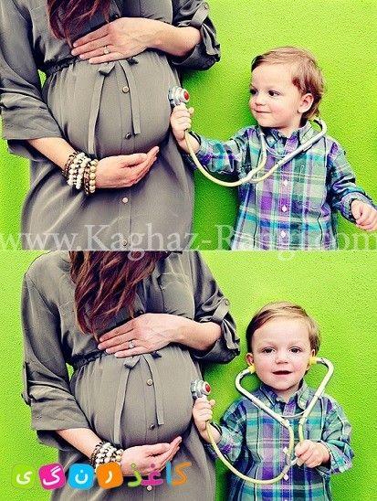 کودکانه ها - 20 ایده برای عکس دوران بارداری