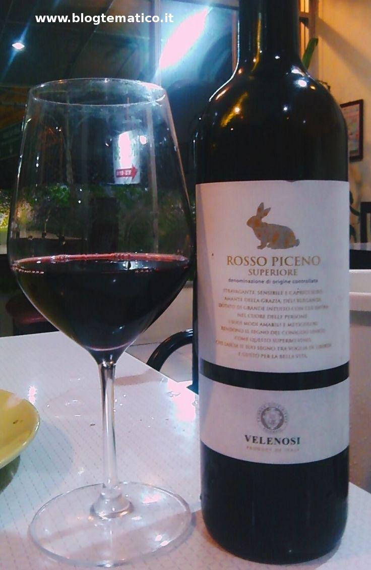 WINE ITALY: Velenosi Rosso Piceno Superiore DOC 2008.--MARCHE: Rosso Piceno e Rosso Piceno Superiore- #Expo2015 #WonderfulExpo2015 #ExpoMilano2015 #Wonderfooditaly #slowfood #FrancescoBruno @frbrun www.blogtematico.it/ frbrun@tiscali.it