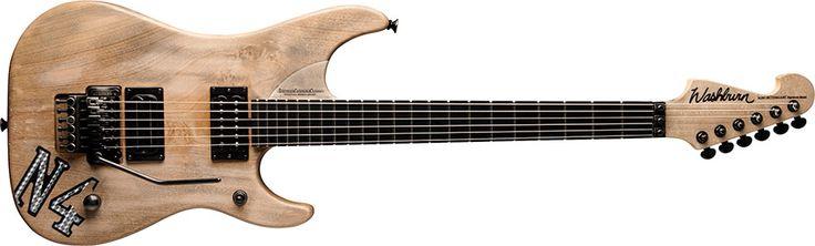 Washburn N4CV Electric Guitar