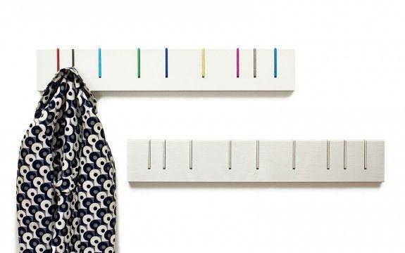 Symbol Coat Rack: Color & Monochrome