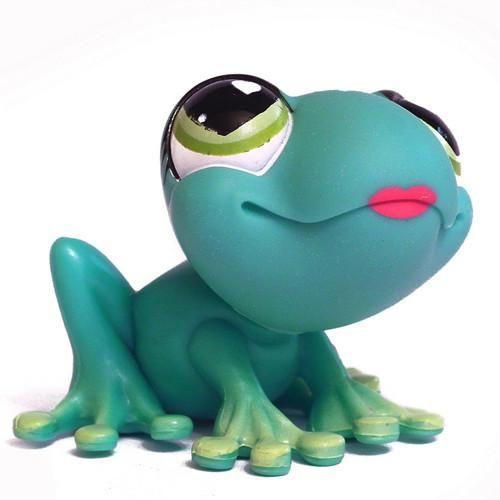 Littlest Pet Shop #559 Frog Target Valentines 2008 OUT OF PACKAGING/BAG #LPS…