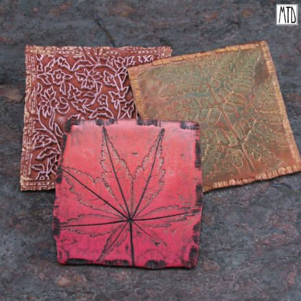 Clay Tiles Art Project   clay tiles i love having a stash of tiny to large polymer clay tiles ...