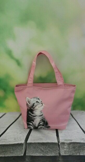 Canvas Totebag by Flirty Poodle