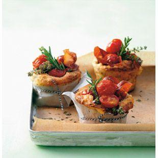 ESSEN & TRINKEN - Tomaten-Muffins Rezept