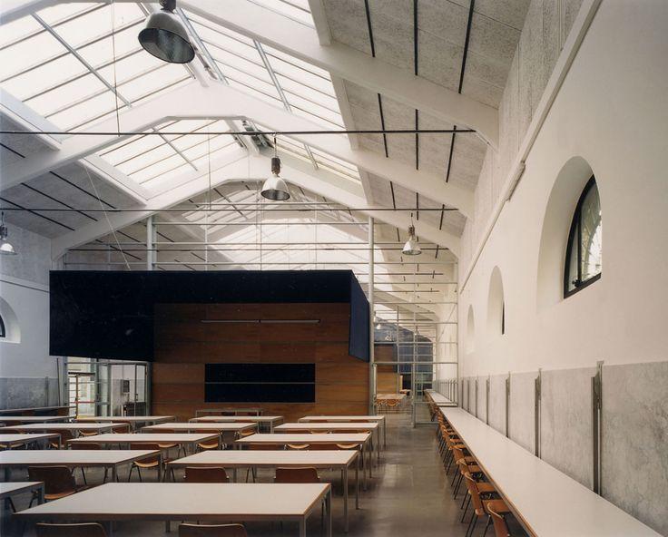 Insula Architettura e Ingegneria S.r.l. · RICONVERSIONE DELL'EX MATTATOIO IN CAMPUS UNIVERSITARIO. · Divisare
