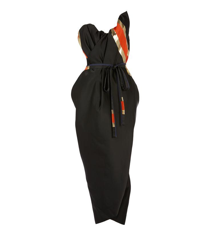 Susanna Dress Black/Gold #SS17