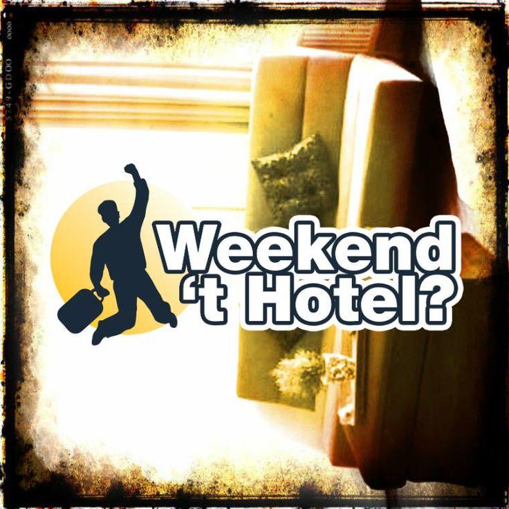 Weekend 't Hotel? Het spel wat we op facebook spelen en waar je gratis hotelovernachtingen kunt winnen! Check https://www.facebook.com/hotelkamerveiling