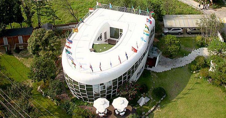 Le classement 16 des architectures les plus insolites du monde