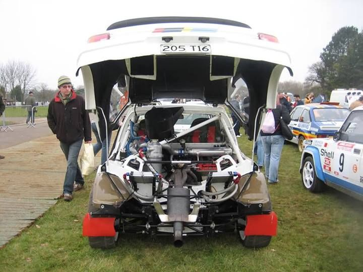 91 best peugeot 205 t16 images on pinterest   car, rally car and group