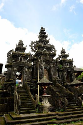 Непал - Индия - о. Бали за 2,5 месяца: Главный храм острова Бали - Пура Бесаких