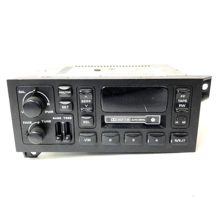 88-00 Dodge Caravan Chrysler Jeep Factory Radio Cassette  P04858556AD  #Dodge