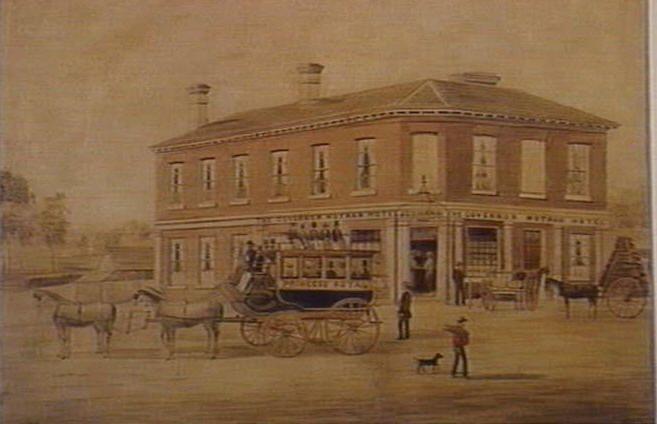 The Governor Hotham Hotel, Burwood Road Hawthorn 1856