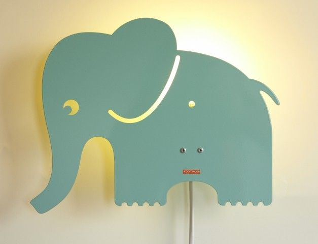 Vegglampe til barnerommet