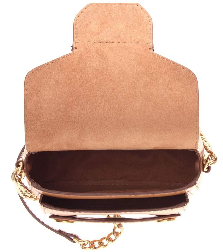 mytheresa.com. Stella Popper Mini brown shoulder bag 682eefa38e439