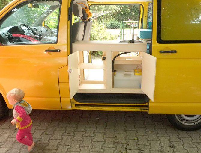 17 besten vw ausbau bilder auf pinterest camper caravan und innenausbau. Black Bedroom Furniture Sets. Home Design Ideas