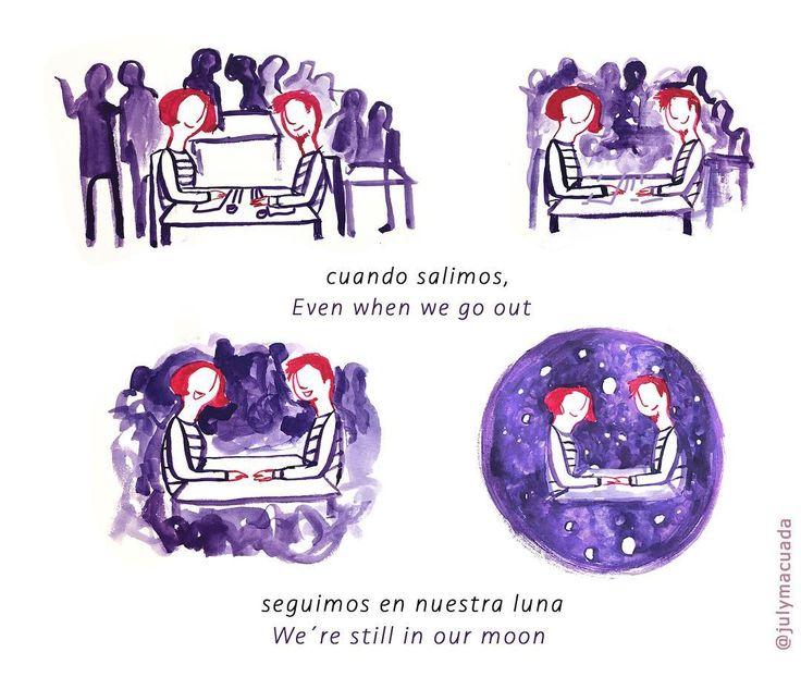Es Viernes / Friday #couple #ilustracion #100dayproject #gouache #comic #viñetas #illustration #pareja #lovers #juntosyrevueltos #historieta #webcomic #100daysofmotivationforillustration #illustrationoftheday #drawing #juntos #instart #picsart