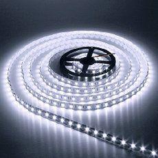 AUDEW 5m 3528 SMD 600 LED 12V Leiste Strip Streifen LED Band Lichterkette Lichtleiste Schlauch (Weiß)