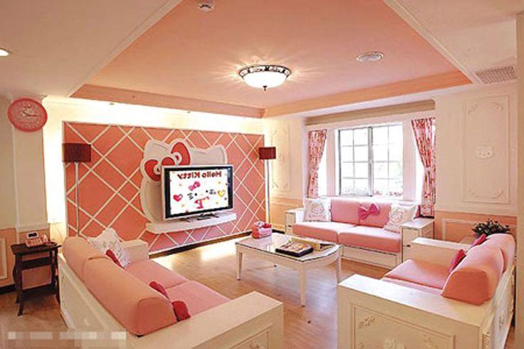 appealing hello kitty living room | Pin by Kattrianna Kaattrianna on Jessica Arewegba | Hello ...
