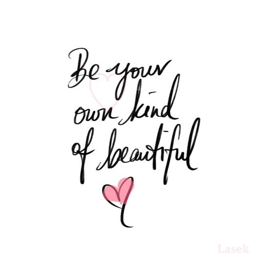 ♥ Define Beauty both inside and out