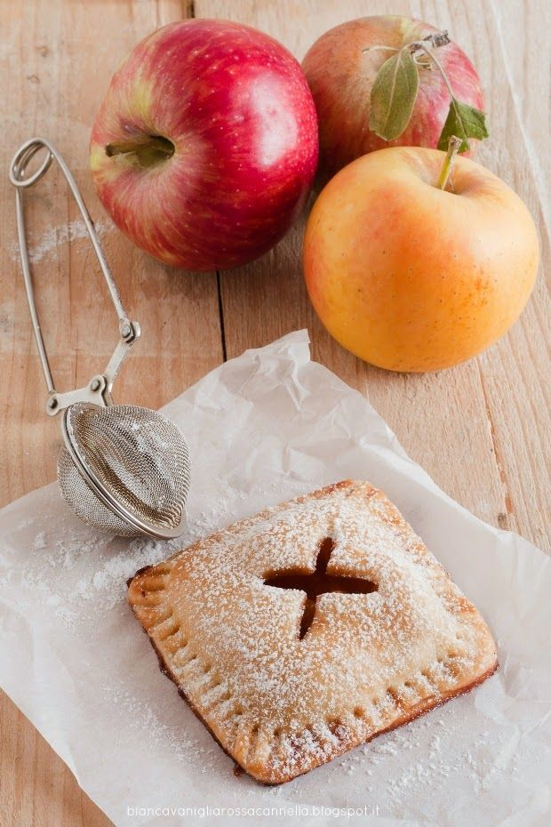 Apple Hand Pies with salted caramel