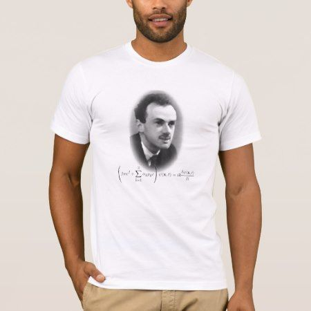 Dirac T-Shirt - click/tap to personalize and buy