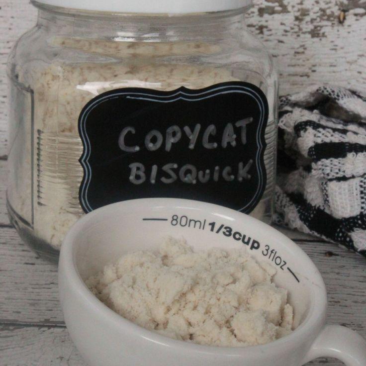 Homemade Baking Mix  Copycat Bisquick Recipe sq