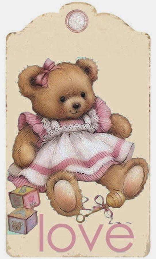 BABY TEDDY BEAR TAG