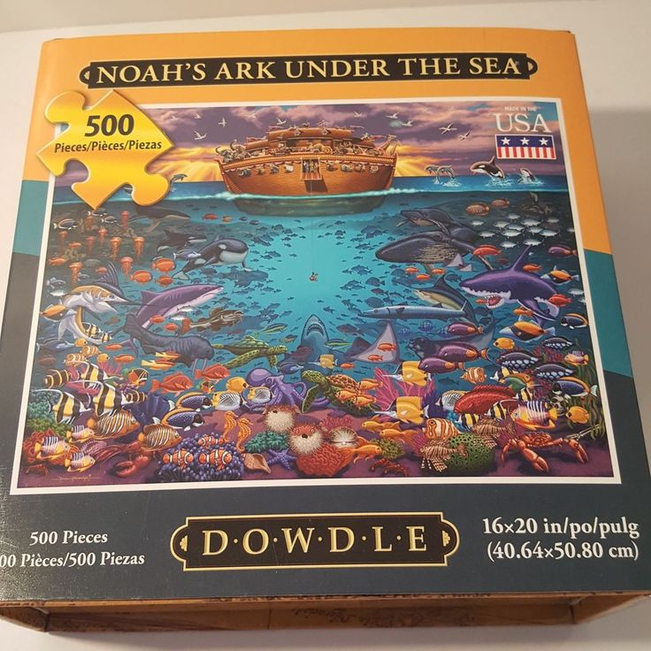 Noahu0027s Ark Under the Sea Jigsaw Puzzle