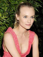 #Diane #Kruger showing huge cleavage at the Calvin Klein event...