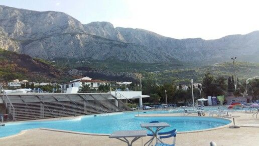 Tucepi Hotel Neptun Blick auf die Berge