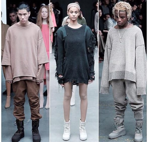 Kanye West debuted his collection for Adidas at New York Fashion Week (NYFW) and the who's who of the fashion and music world were present. In front of Jay-Z, Beyonce, Anna Wintour, Puffy, Rihanna and more, Kanye showed the world that he is ready to outfit us all for when ...