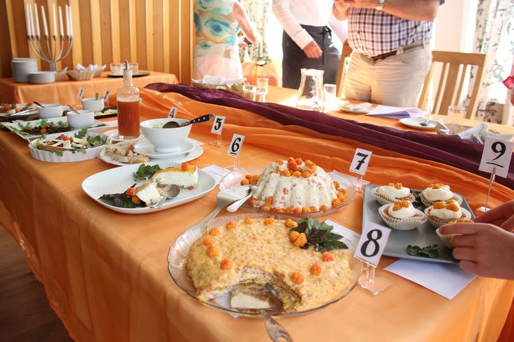 Cloudberry contest. Best cloudberry recipe of the year.