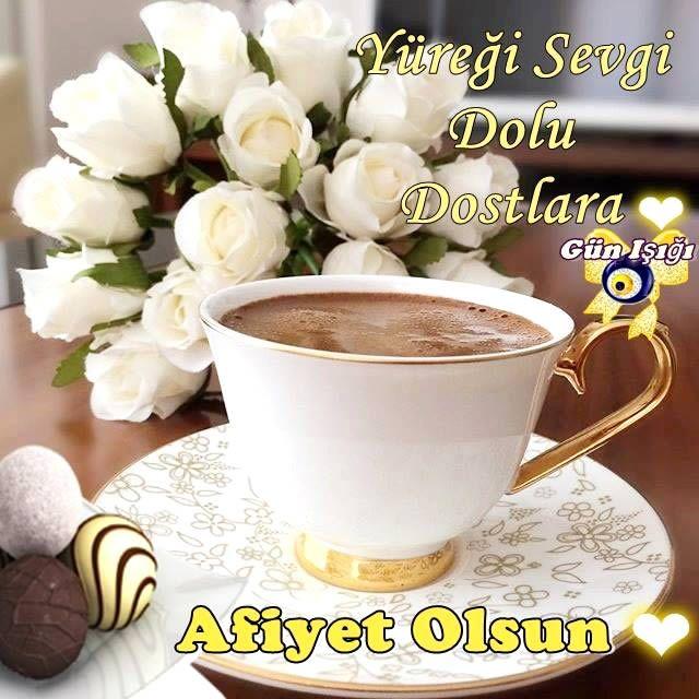 Yüreği sevgi dolu dostlara afiyet olsun #afiyetolsun dost beyaz cicek kahve cikolata