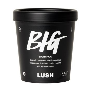 Ideal Over half the base of Big shampoo is made with sea salt to help give massive
