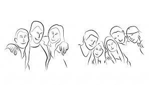 Resultado de imagen para poses de grupos