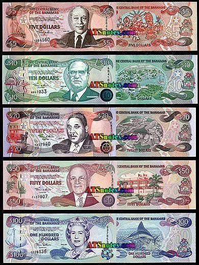 Bahamas Currency | Bahamas banknotes - Bahamas paper money catalog and Bahamian currency ...