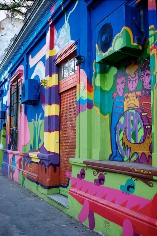 graffiti Beatles > Palermo (Buenos Aires), Argentina City Guide | Design*Sponge