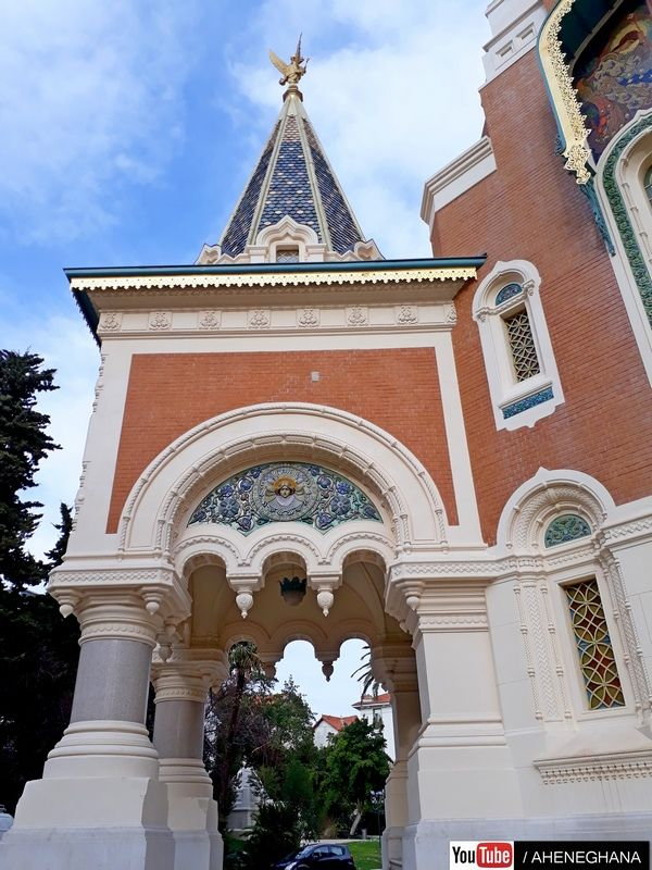Russian Orthodox church Nice South Of France