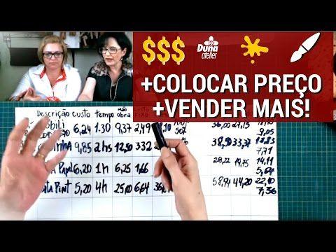 Como Colocar Preço No Seu Artesanato e Vender Mais - AO VIVO - YouTube