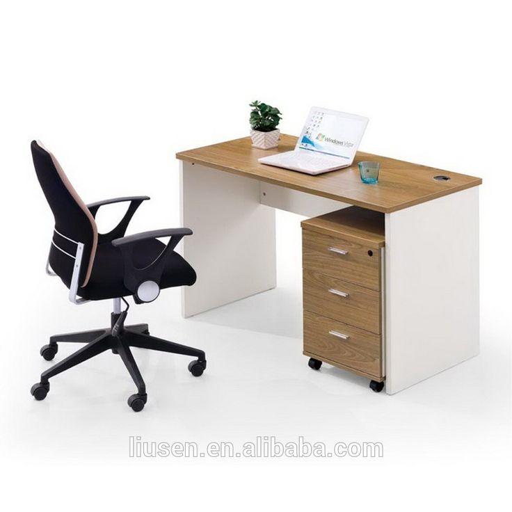 Hottest Modular Computer Office Furniture Ergonomic Wooden Table Design