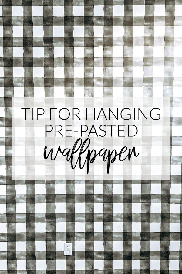 Tips For Hanging Pre Pasted Wallpaper Prepasted Wallpaper How To Hang Wallpaper Magnolia Wallpaper