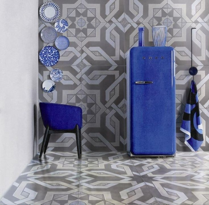 Blu Freeze - iGattipardi - Fabrizio Soft cm.60x60