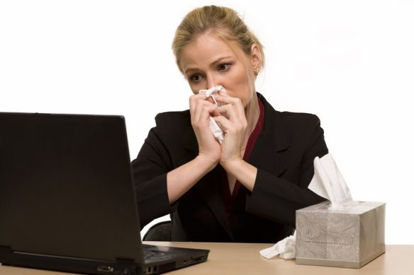 Tips on How to Fight Cold and Flu Season at the #Office.