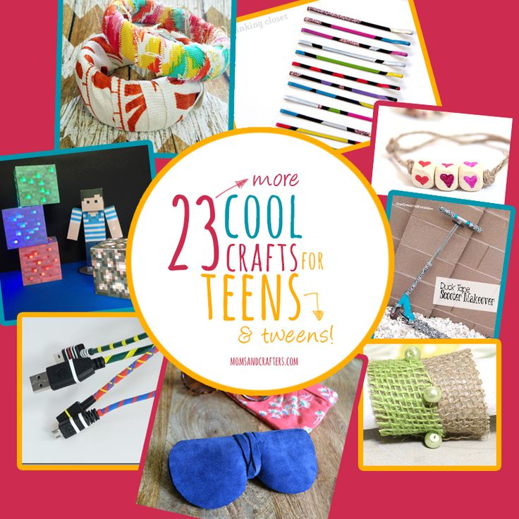 23 more cool crafts for teens mom ray ban aviator and tween for Cool crafts for tweens