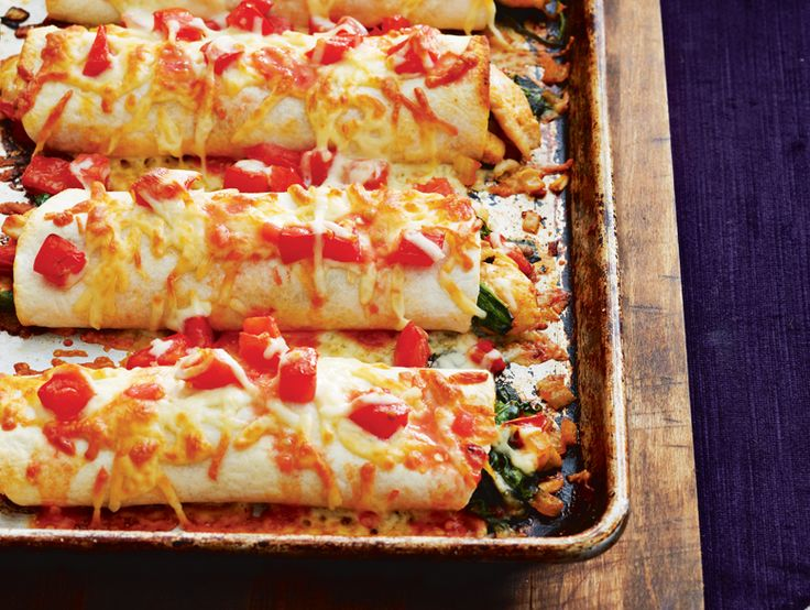 satisfy your hunger after a long day with hearty chicken enchiladas #recipe