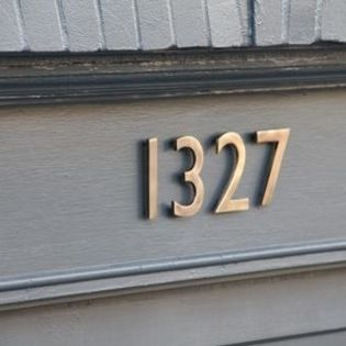 34 best House Numbers images on Pinterest House numbers Solid