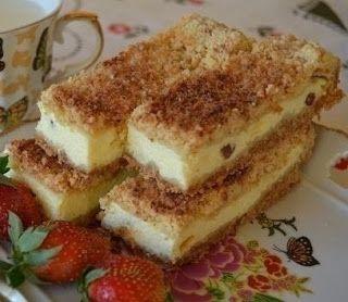 Лучшие кулинарные рецепты: Песочный пирог с творогом